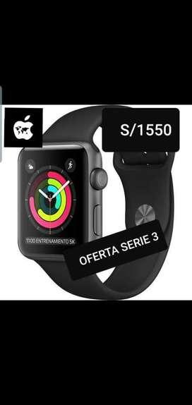 Apple Watch Serie 3 Sellado Garantia 1añ