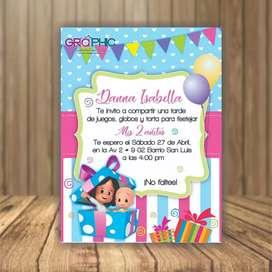 Diseñamos tarjetas de cumpleaños digital o animada