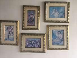 Colección cuadros Angeles