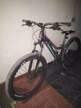 Vendo hermosa bicicleta profitt