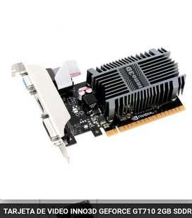 Tarjeta de video Nvidia GT 710
