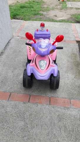 Moto Electrica Niña