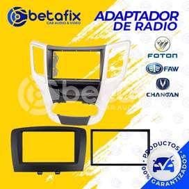 ADAPTADORES DE RADIO PARA FOTON FAW CHANGAN  BETAFIX DESDE