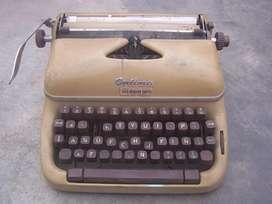 antigua maquina de escrivir