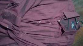 Camisas para hombre talles L y XL.