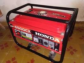 Grupo Electrógeno Honda Ep6500 Usado En Excelente Estado