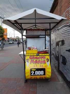 Triciclo de churros para negocio