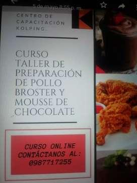 Curso taller online de mousse chocolate
