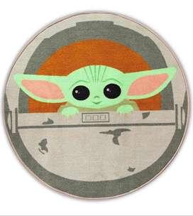 Alfombra Redonda - Star Wars Baby Yoda