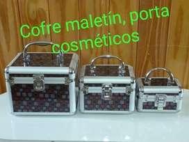 Cofre Maletín Porta Cosmeticos
