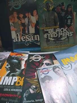 Revistas y posters de zona joven