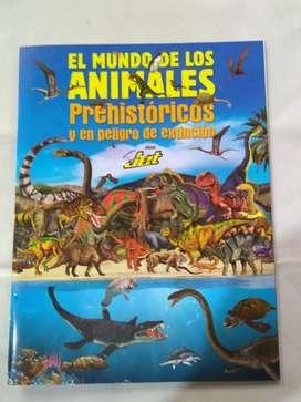 Album Jet el mundo Prehistorico