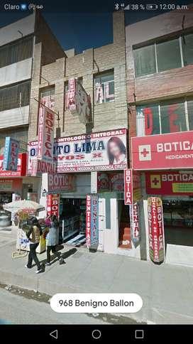 Alquiler casa comercial Plaza Tupac Amaru Juliaca.