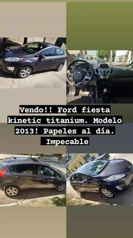 Ford fiesta kinetic titaniun impecable