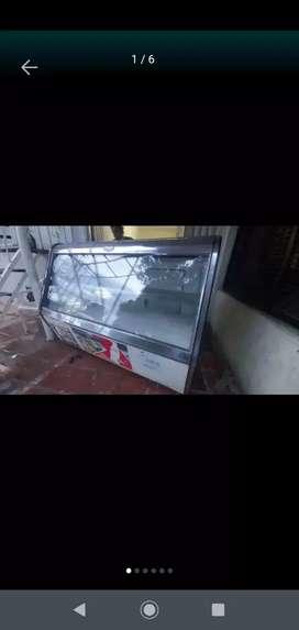Vendo tanque vitrina de 4 bandeja colder congelador