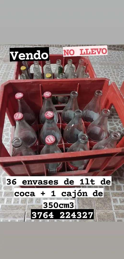 Envases de coca 1 lit 0