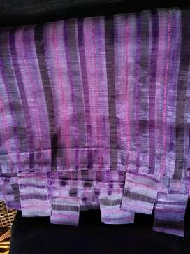 Dos cortinas en velo