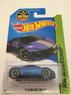 Hot Wheels 12' Acura NSX Concept
