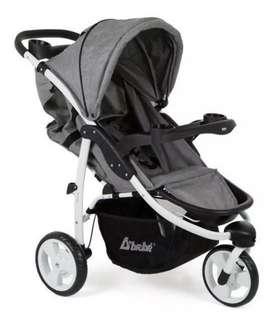 Oferta Cochecito de bebe 3 ruedas muy lindo en caja nuevo vendo o cambio por ventana balcom