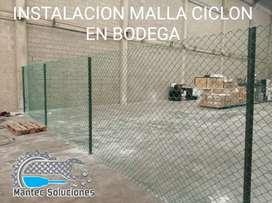 Instalación Cerramiento Malla Ciclón