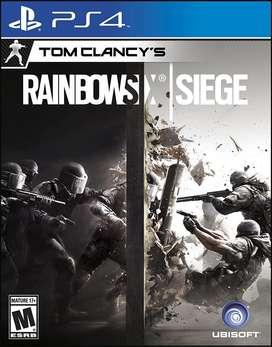 Juego Rainbow Six Ps4
