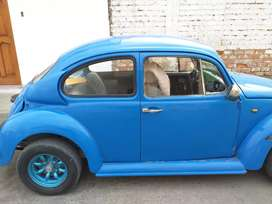 Vendo mi escarabajo azul