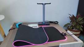 Alfombrilla extra grande /Pad mouse RGB