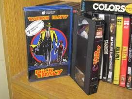 Dick Tracy (película) - 1990 VHS - Madonna, Al Pacino,