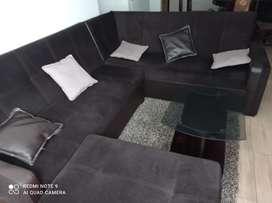 Vendo muebles de sala + mesa de centro
