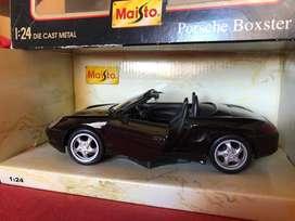 Porsche Boxter escala 1:24 nuevo, sin uso. Maisto.