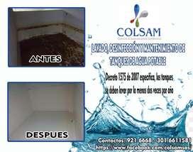LAVADO DE TANQUES (Limpieza y Desinfección tanques de agua potable)