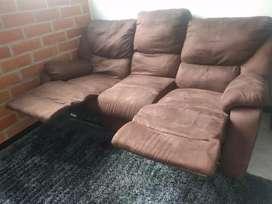 Muebles reclinable 3 puestos