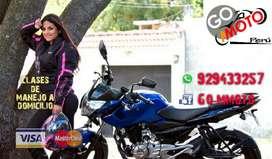 Clases Personalizadas Moto Lineal Manejo