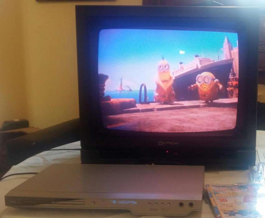 Reproductor DVD y TV 21' Combo !!! 0
