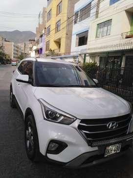 vendo camioneta Hyundai creta 2018