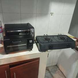 Cocina dos puestos