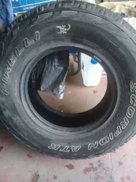 Vendo 2 cubiertas  265/75/16 Pirelli  scorpion
