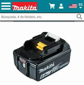 Batería Makita de litio 18v 6.0 Amp