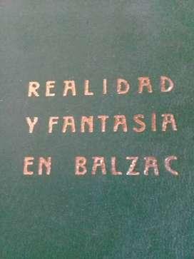 Realidad y Fantasía en Balzac, de Ezequiel Martinez Estrada.