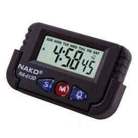 Reloj Digital Nako Na613d Luz Led Alarma Fecha