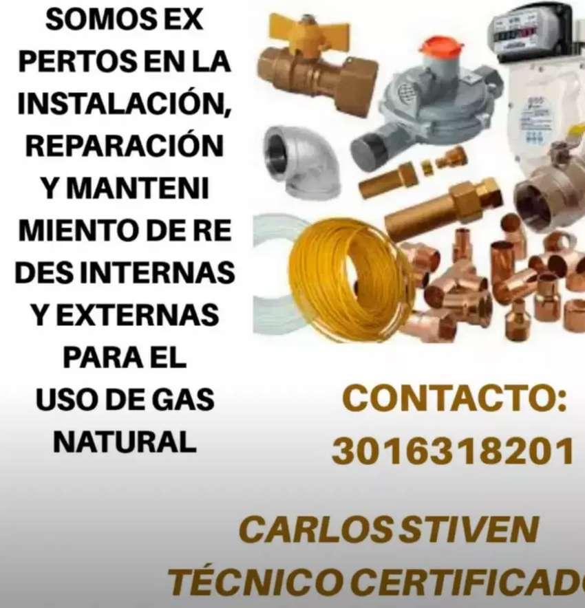 Redes internas gas natural, mantenimiento y gasodomestico 0