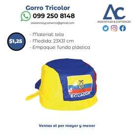 Gorro Tricolor