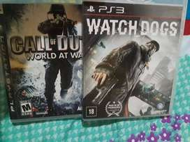 Watch Dogs Y Call Of Duty World At War