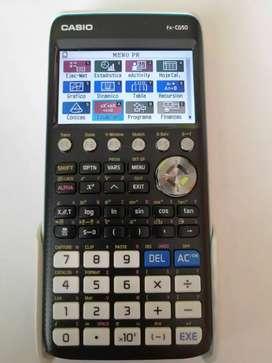 Calculadora Casio FX cg50 graficadora color programa  múltiples en la cava del libro tienda Universitaria multiproductos