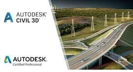Asesoria civil 3d , Autocad ,etc.