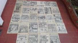 DIARIOS CLARIN DE ARGENTINA CAMPEONA MUNDIAL 1978 DE FUTBOL