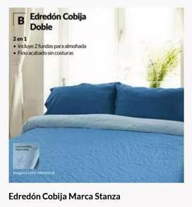 EDREDON COBIJA DOBLE MARCA STANZA