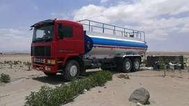 Vendo camión Cisterna operativo para agua industrial