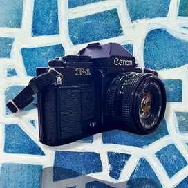 Canon new F1, Excelente estado