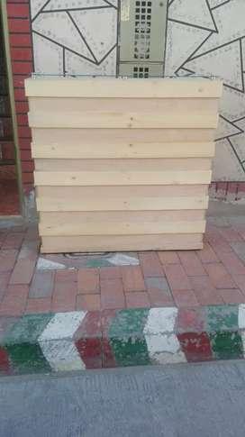 Barra de madera (recepción)